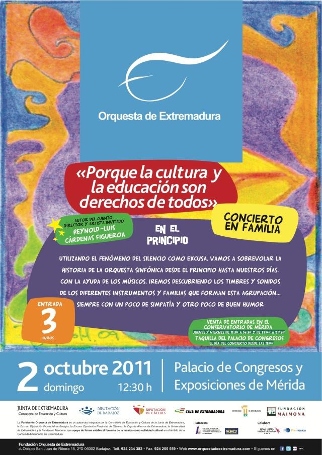 02.10.11 La OEX en Mérida con los más pequeños