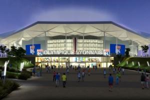 Estadio del Olympique Lyonnais